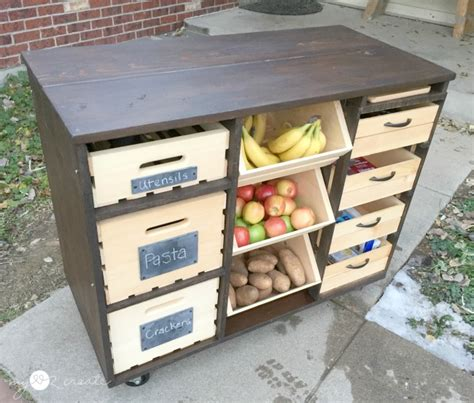 Food Pantry Island by Build A Kitchen Island With Pantry Storage Icreatived