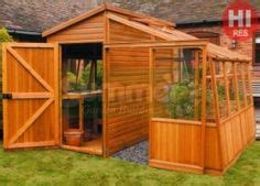 Half Shed Half Greenhouse by 1000 Images About Potting Shed On Corner