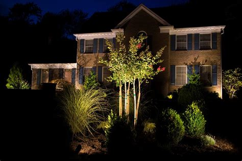 Landscape Lighting Kits Shown Image Of Landscape Outdoor Landscape Lighting Kits
