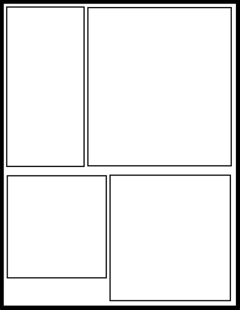comic book panel template smt 28 by comic templates on deviantart