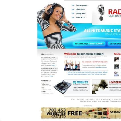 Radyo Istasyonu şablonu Mavi 220 Cretsiz Web Sitesi şablonları 220 Cretsiz Indir Ham Radio Website Templates Free