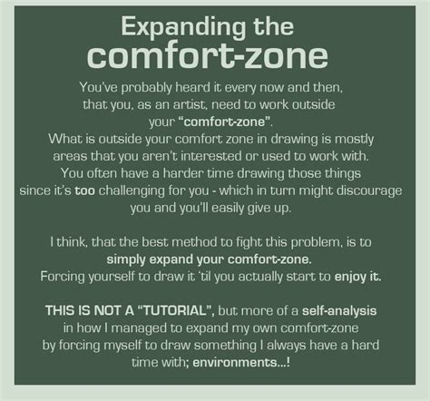comfort zone tutorial source foervraengd list of tutorials that helpful harrie