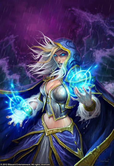 jaina proudmoore tides of jaina proudmoore from world of warcraft warcraft iii by narga lifestream aipt