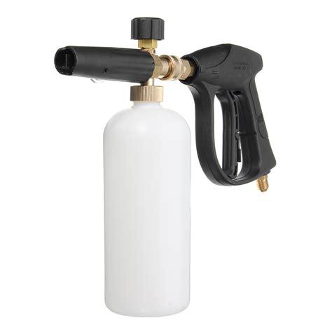 Sadapt Car Wash Jet Water Cannon Spray Gun Hose Nozzle Semprotan Cuci Foam Lance Snow Pressure Gun Bottle Foamer Wash