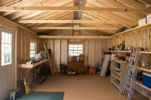 Garages With Lofts 14x30 storage shed relax on a full length porch byler