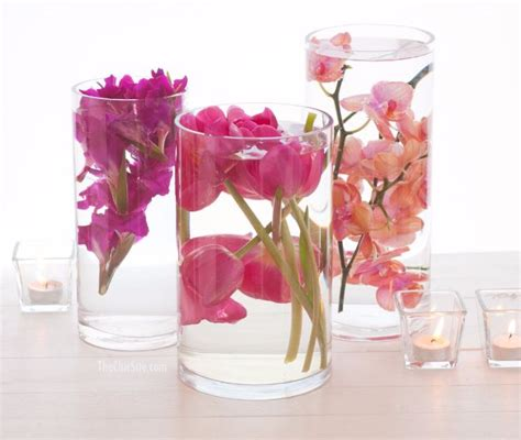 submersible flower centerpieces 33 best diy wedding centerpieces you can make on a budget diy