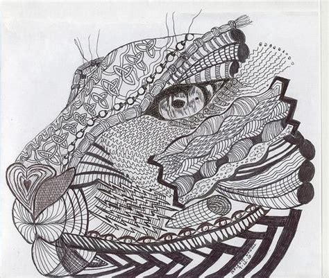 feathered lion tangle zentangle animals pinterest images for gt zentangle lion head zentangle 174 animals of