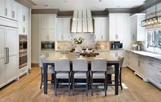 kitchen island plans with seating 40 kitchen island designs ideas design trends