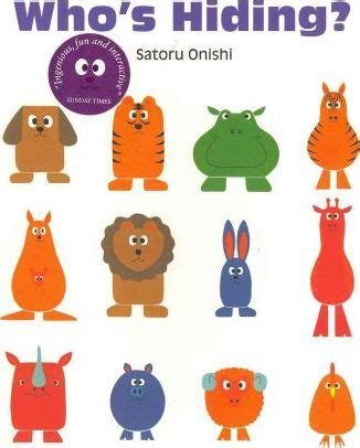 whos hiding gecko press whos hiding satoru onishi 9781877467134
