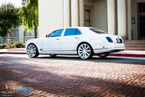 bentley mulsanne on 24s bentley mulsanne on 24 inch vellano wheels rides magazine
