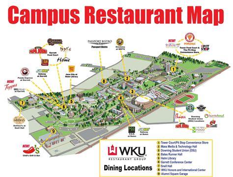 map uky cus restaurant map