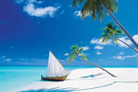 ibay maldives boats paradise found poster beauty island beach tropical boat