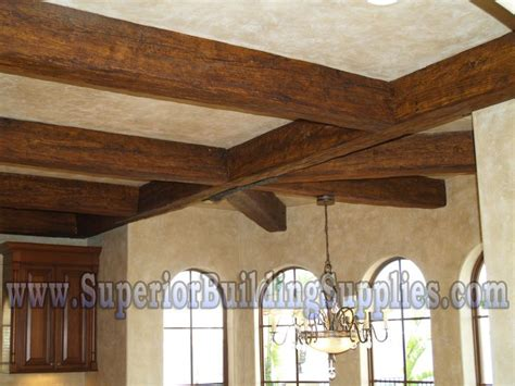 wood ceiling beams faux ceiling beams rock lake pinterest
