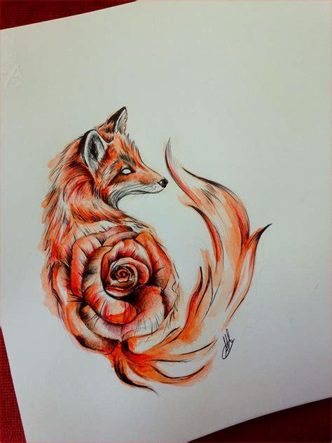 watercolor tattoo schweiz fox drawing 134337 fox foxy draw drawing watercolor