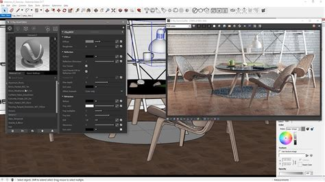 vray sketchup quick tutorial v ray for sketchup quick start materials youtube