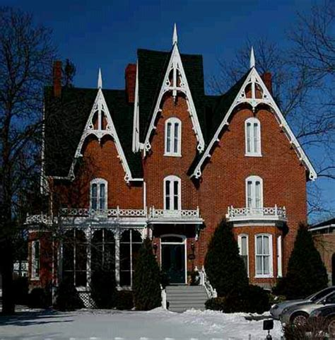 gothic revival home beautiful house designs pinterest