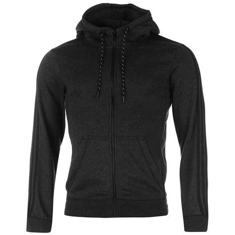 Jaket 3 Colour Adidas Black Hoodie Sweater Hitam Abu Merah adidas 3 stripe zip hoody mens grey black