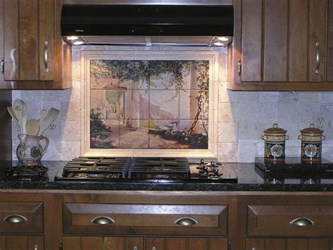 kitchen backsplash mural 25 beautiful kitchen backsplash pictures creativefan