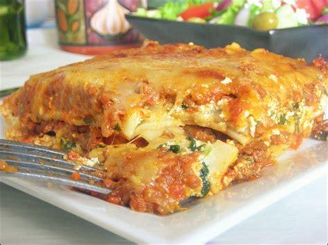 cuisine l馮鑽e et rapide lasagne 224 la bolognaise recette facile le cuisine
