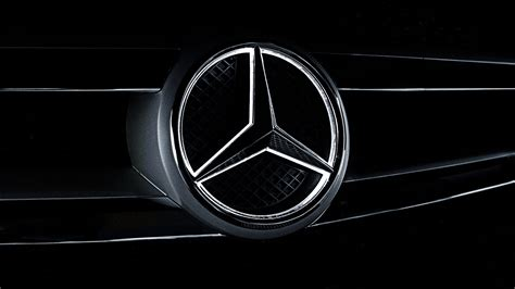 mercedes logo black background mercedes benz wallpaper