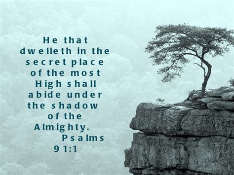 the secret place of the most high reflections of a s unfailing books psalms 91