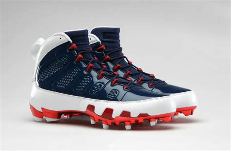 retro football shoes air retro 9 cleats for team sole collector