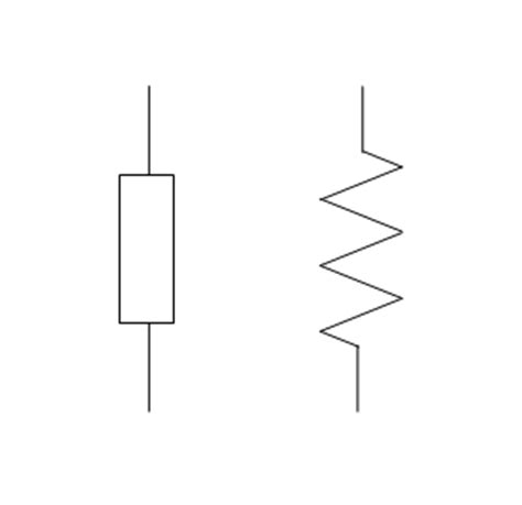 symbols for resistors schematic symbol for a resistor get free image about wiring diagram