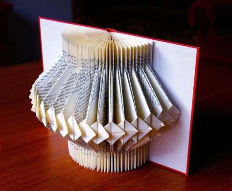book decorative item  piece  book art papercraft