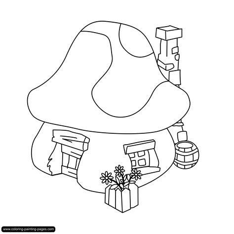 online templates for pages coloring pages smurfs free downloads
