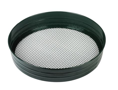 Garden Sieve by Metal Garden Sieve Riddle Sift Stones Lumps From Soil