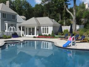 House With Pool Central Ma Pool House Contractor Elmo Garofoli Construction Elmo Garofoli Jr Construction