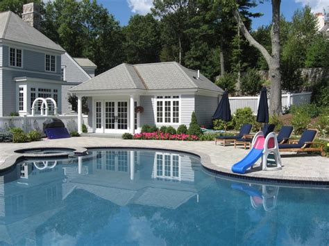 Pool Home by Central Ma Pool House Contractor Elmo Garofoli
