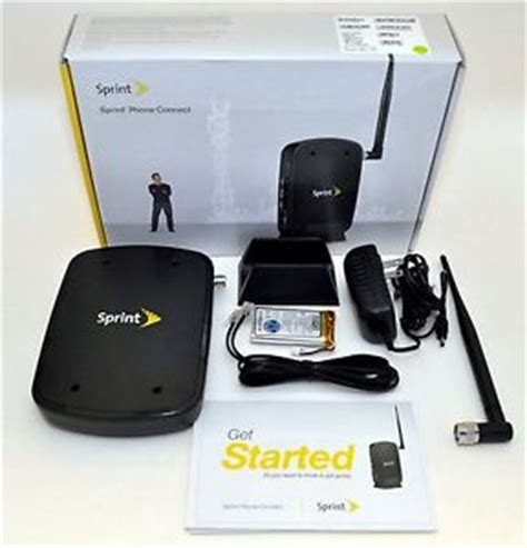 Sprint Home by New Sprint Phone Connect Tx340g Cdma Home Adapter Wired 2