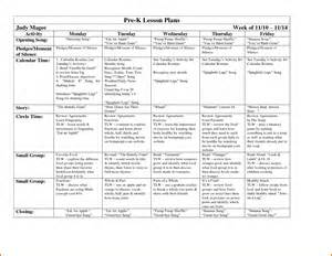 lesson plan template pre k 13 pre k lesson plan template plantemplate info