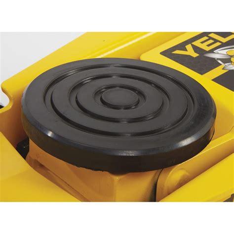 3 ton 2700kg pro duty garage yellow jacket