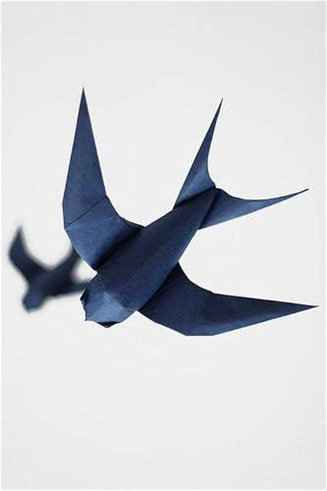Origami Bird Tutorial - origami bird tutorial manualidades 3d