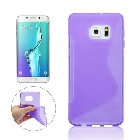 Casing Samsung Galaxy S6 Soft Fuze Colour Cover Transparant angibabe back cover for samsung galaxy s6 edge plus g9280 purple free shipping dealextreme