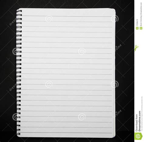 How To Make Pads Of Paper - note pad lined paper stock photo image 17038470