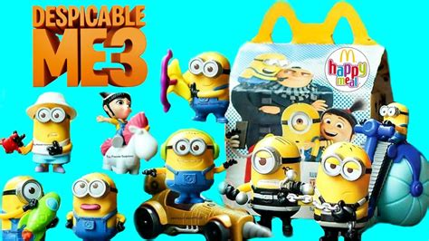Happy Meal Despicable Me3 mcdonalds happy meal despicable me 2 www pixshark images galleries with a bite