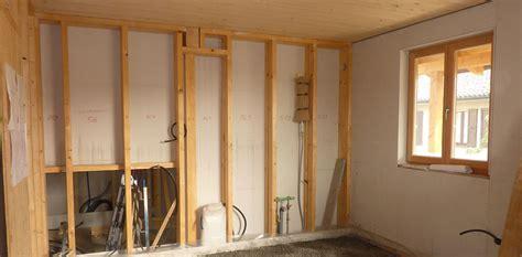 Trockenbauwand Aus Holz by Innenw 228 Nde