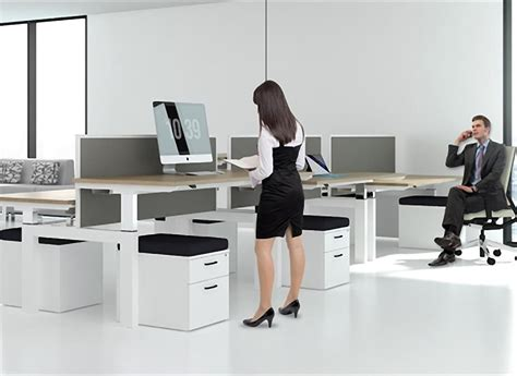 Office Desk Height Change Height Adjustable Desks Calibre Office Furniture