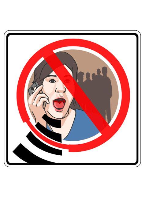 no no clipart no gsm sign no sound