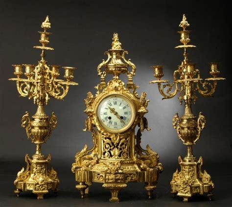 kaminuhr antik antike sch 214 ne empire franz 214 sische pendule vergoldete