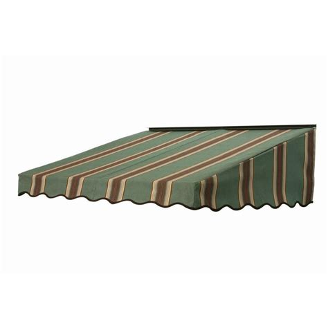Home Depot Awning by Nuimage Awnings 3 Ft 2700 Series Fabric Door Canopy 17