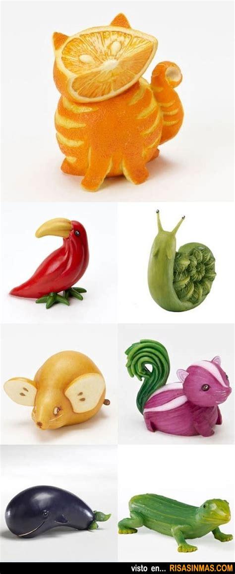 imagenes de animales hechos con frutas animales hechos con frutas y verduras
