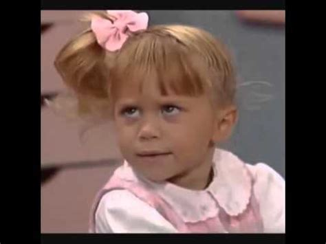 full house funny funny moments of michelle tanner on full house youtube
