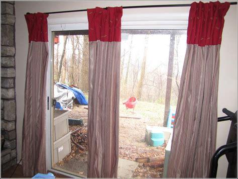 Appropriate Curtain Length Decorating Sliding Door Curtain Rod Length Patios Home Decorating Ideas Ro2vojkal6