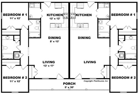 duplex blueprints 2 bedroom duplex floor plans ahscgs com