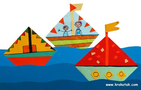 Origami Arts And Crafts - origami boats and craft
