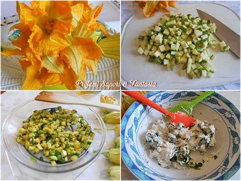 fiori di zucca ripieni al forno con ricotta fiori di zucca ripieni al forno preparazione facile con